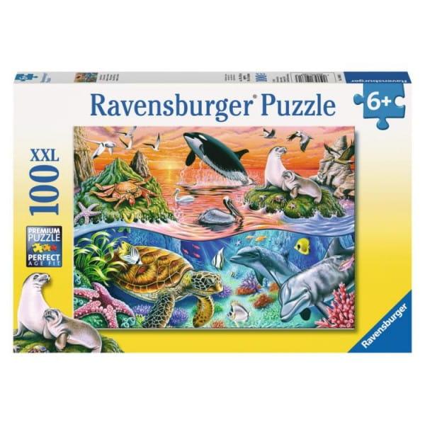 Пазл Ravensburger 10681 Морской мир - 100 деталей