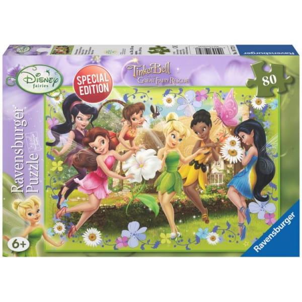 Купить Пазл Ravensburger Феи в цветах - 80 деталей в интернет магазине игрушек и детских товаров