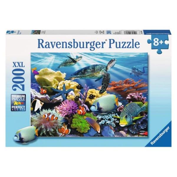 Пазл Ravensburger 12608 Морские черепахи - 200 деталей