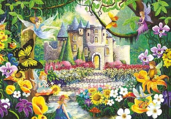 Пазл Ravensburger 12609 Сказочный замок - 200 деталей
