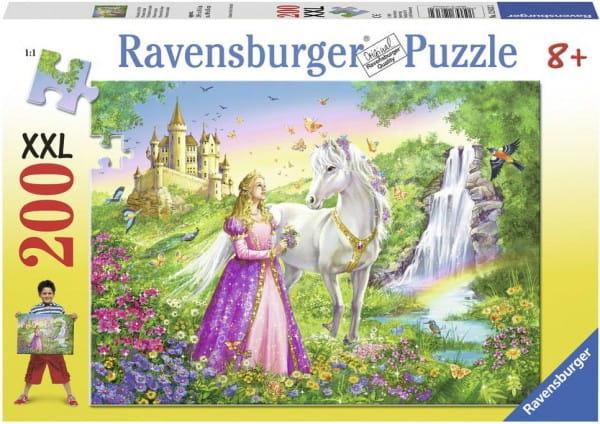 Купить Пазл Ravensburger Сказочная принцесса - 200 деталей в интернет магазине игрушек и детских товаров