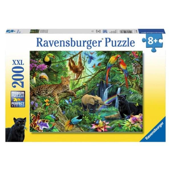 Пазл Ravensburger 12660 Джунгли - 200 деталей