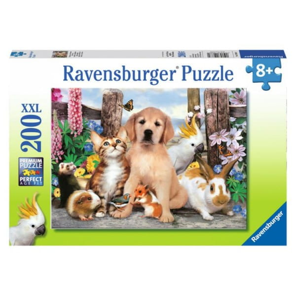 Пазл Ravensburger 12688 Хорошие друзья - 200 деталей