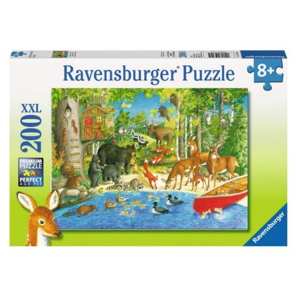Пазл Ravensburger Лесные жители - 200 деталей