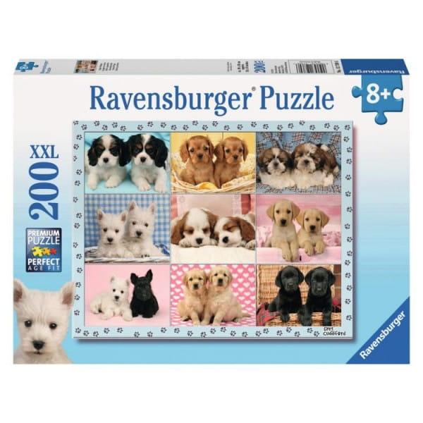 Пазл Ravensburger 12769 Прелестные щенки - 200 деталей