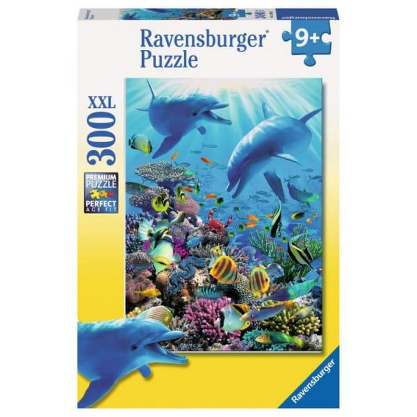 Купить Пазл Ravensburger Подводное приключение - 300 деталей в интернет магазине игрушек и детских товаров