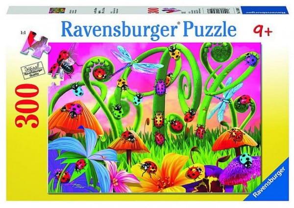 Пазл Ravensburger 13059 Божьи коровки - 300 деталей