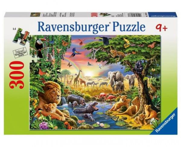 Пазл Ravensburger 13073 Книга джунглей - 300 деталей