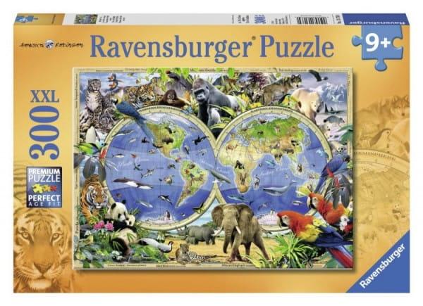 Пазл Ravensburger 13173 Мир дикой природы - 300 деталей