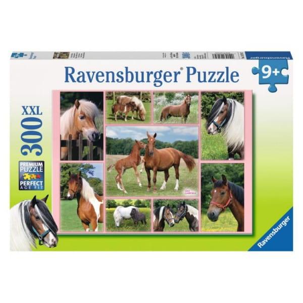 Купить Пазл Ravensburger Галерея лошадей - 300 деталей в интернет магазине игрушек и детских товаров