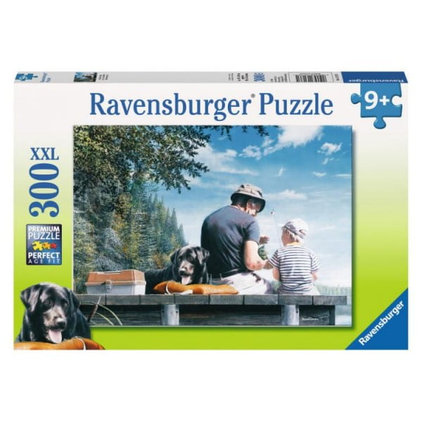 Пазл Ravensburger 13176 На рыбалке - 300 деталей
