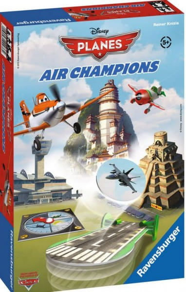 Настольная игра Ravensburger 21096 Самолеты Воздушные чемпионы