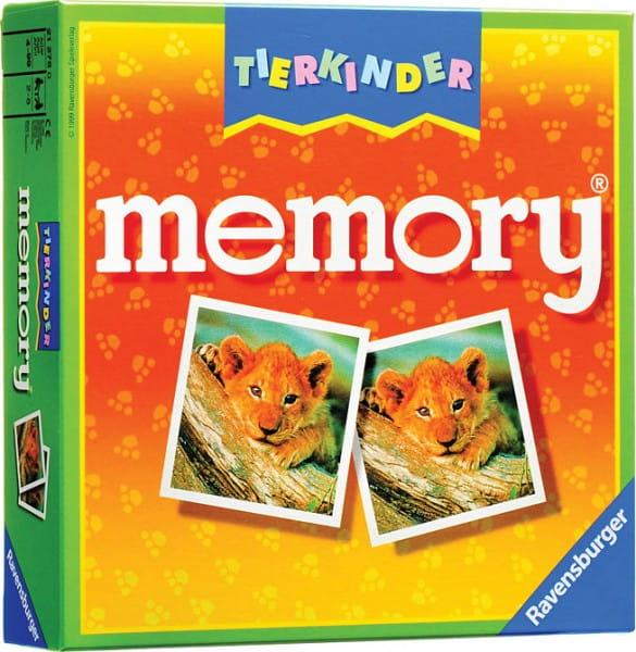 Купить Настольная игра Ravensburger Мемори Memory Детеныши животных в интернет магазине игрушек и детских товаров