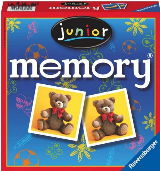 Купить Настольная игра Ravensburger Мемори Memory Юниор в интернет магазине игрушек и детских товаров