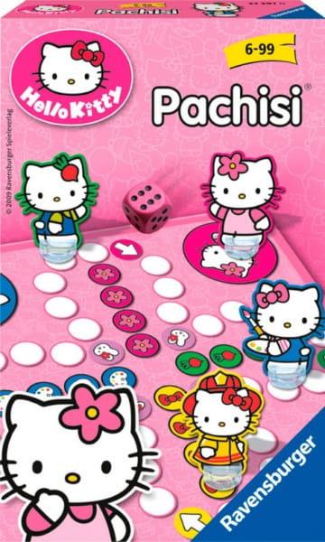Настольная игра Ravensburger 22076 Пачиси Hello Kitty