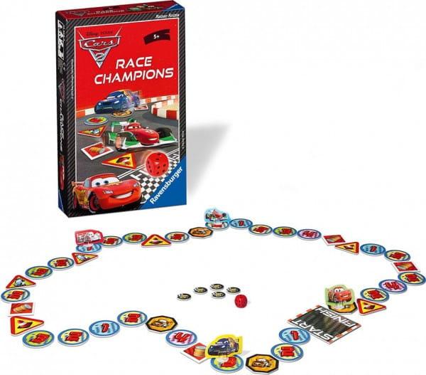 Настольная игра Ravensburger 22156 Тачки 2 Чемпион гонок