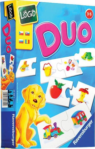 Настольная игра Ravensburger 24359 Лого Дуо