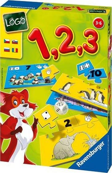 Настольная игра Ravensburger 24371 Лого 1, 2, 3