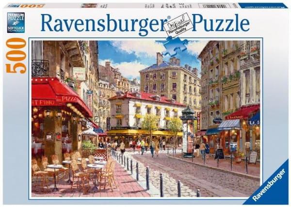 Пазл Ravensburger 14116 Кафе в старом городе - 500 деталей