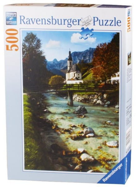 Купить Пазл Ravensburger Горная Бавария - 500 деталей в интернет магазине игрушек и детских товаров