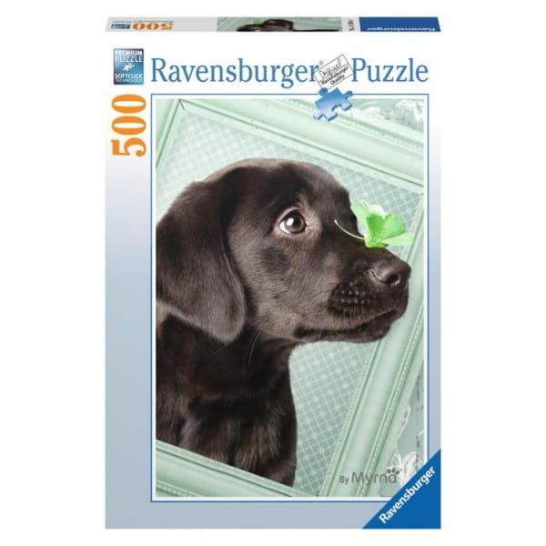 Пазл Ravensburger 14194 Счастливый щенок - 500 деталей