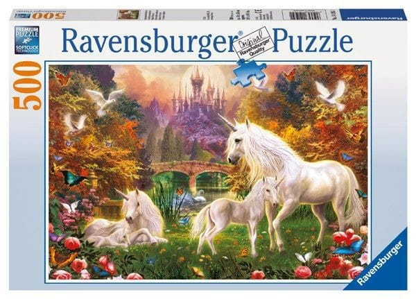 Пазл Ravensburger 14195 Волшебные единороги - 500 деталей
