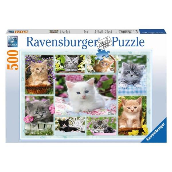 Пазл Ravensburger 14196 Галерея котят - 500 деталей