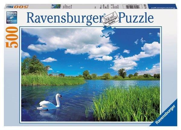 Пазл Ravensburger 14230 Лебедь на пруду - 500 деталей