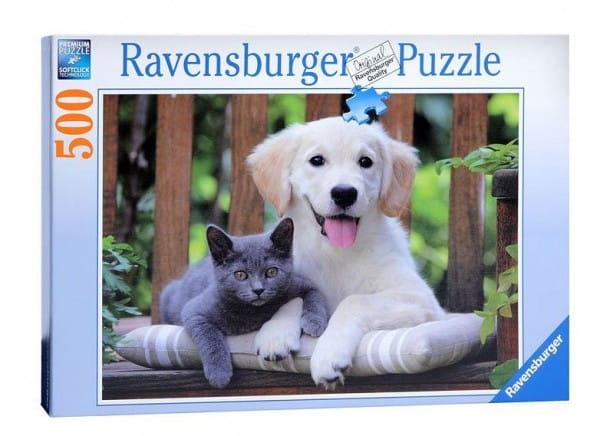 Купить Пазл Ravensburger Друзья - 500 деталей в интернет магазине игрушек и детских товаров