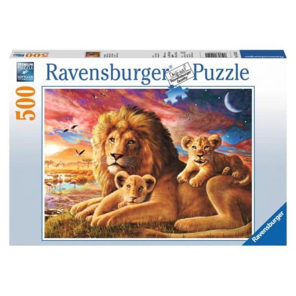 Пазл Ravensburger 14252 Семейство львов - 500 деталей