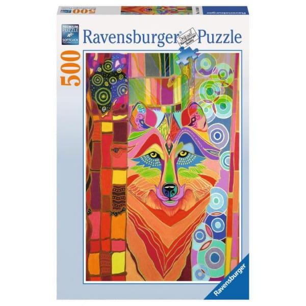 Пазл Ravensburger 14368 Сказочный волк - 500 деталей