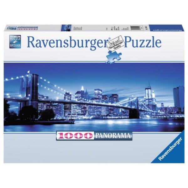 Панорамный пазл Ravensburger 15050 Ночь в Нью-Йорке - 1000 деталей
