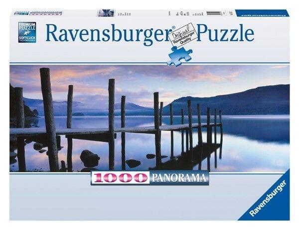 Панорамный пазл Ravensburger 15112 Идиллия на озере - 1000 деталей