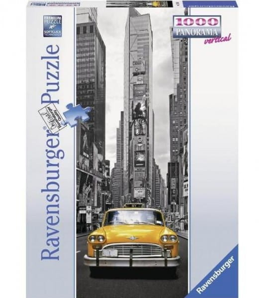 Панорамный пазл Ravensburger 15119 Нью-Йоркское такси - 1000 деталей