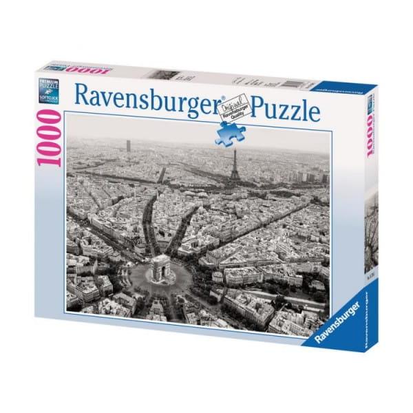 Пазл Ravensburger 15736 Черно-белый Париж - 1000 деталей