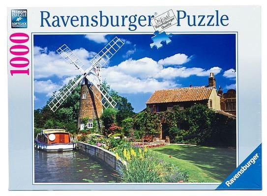 Купить Пазл Ravensburger Ветряная мельница - 1000 деталей в интернет магазине игрушек и детских товаров