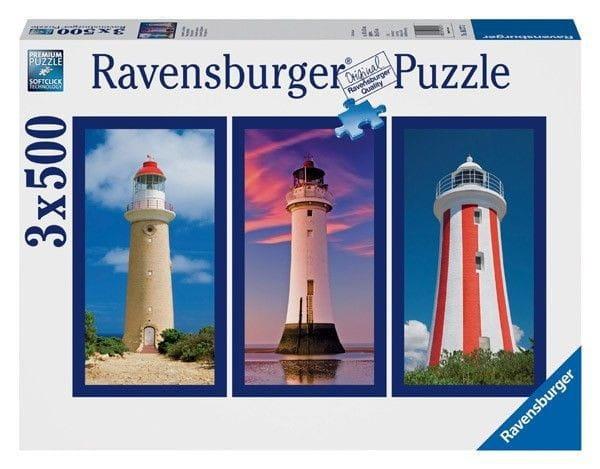 Купить Пазл-триптих Ravensburger Маяк - 1500 деталей в интернет магазине игрушек и детских товаров