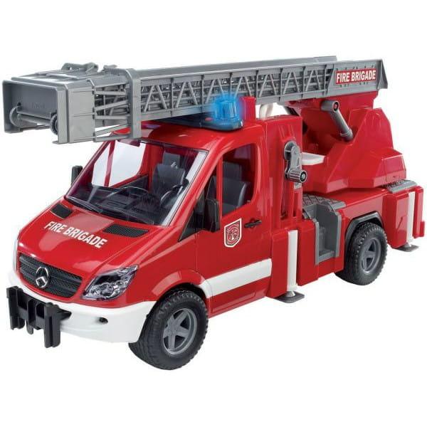 Пожарная машина Bruder Mersedes Benz Sprinter 1:16 (со световыми и звуковыми эффектами)