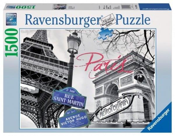 Пазл Ravensburger 16296 Мой Париж - 1500 деталей