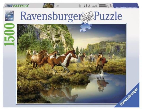Пазл Ravensburger 16304 Дикие лошади - 1500 деталей
