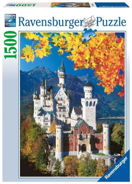 Пазл Ravensburger 16386 Осенний Нойшванштайн - 1500 деталей
