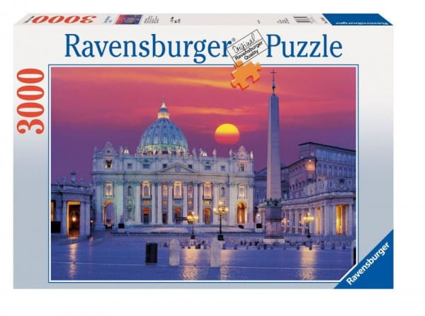 Пазл Ravensburger 17034 Собор Святого Петра - 3000 деталей