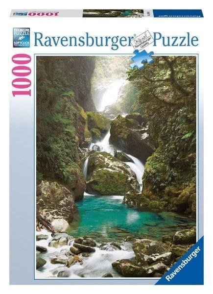 Пазл Ravensburger 19050 Водопад Маккей - 1000 деталей (Новая Зеландия)