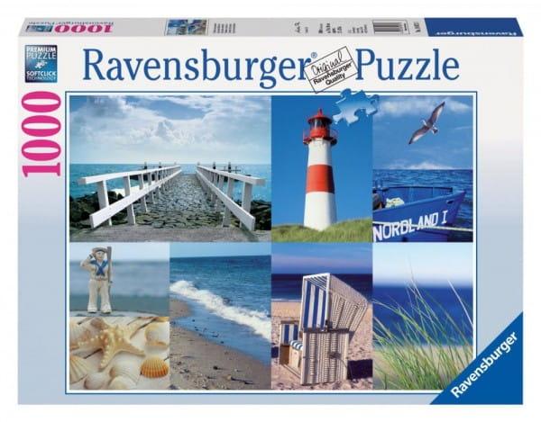 Пазл Ravensburger 19071 Морской пейзаж - 1000 деталей
