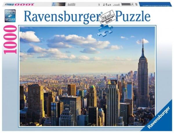 Пазл Ravensburger 19114 Утро на Манхэттене - 1000 деталей