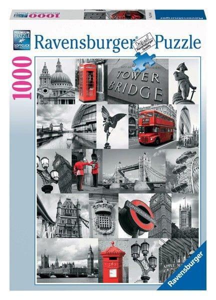 Пазл Ravensburger 19144 Лондон в картинках - 1000 деталей