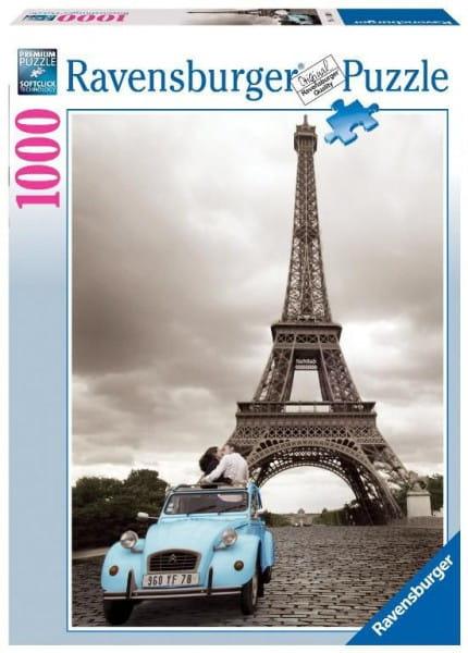 Купить Пазл Ravensburger Романтика в Париже - 1000 деталей в интернет магазине игрушек и детских товаров