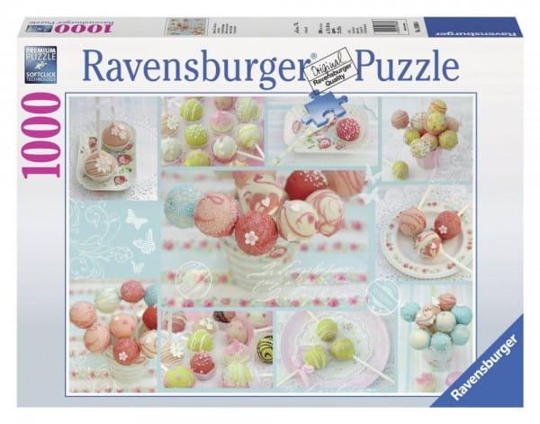 Купить Пазл Ravensburger Сладкая жизнь - 1000 деталей в интернет магазине игрушек и детских товаров