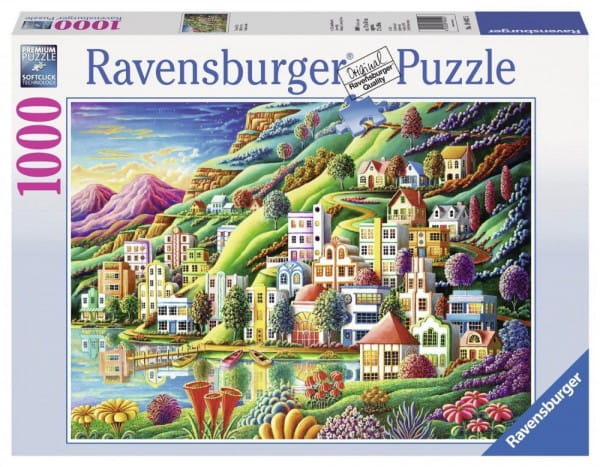 Пазл Ravensburger 19402 Волшебный город - 1000 деталей
