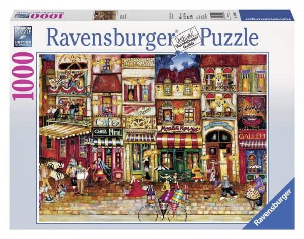 Пазл Ravensburger 19408 Улицы Франции - 1000 деталей